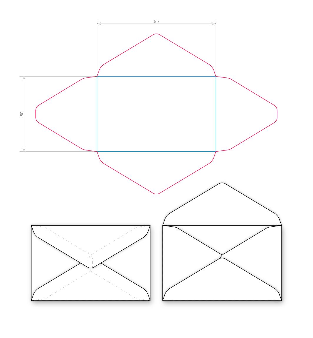 Как сделать большой конверт своими руками 8